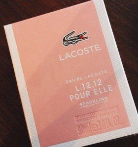 Женская туалетная вода Eau de Lacoste pour Elle