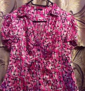Блузка бу 48 размер