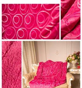 Покрывало розовое