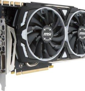 Видеокарта GeForce MSI GTX 1080, 8Gb