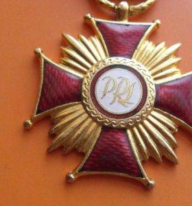 Орден /Польша,крест заслуги(торг)