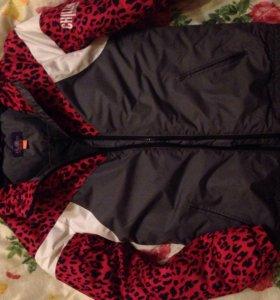 Зимняя куртка из cropp