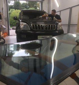 Лобовое стекло Toyota Land Cruiser Prado 120 2007