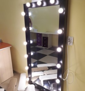 Зеркало с подсветкой!