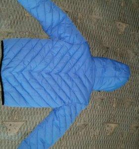 Куртка новая пуховик на 5 лет 110 ростовка.