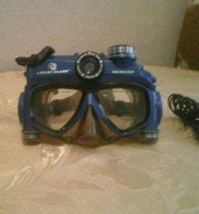 Маска-камера для подводной фото и видео съемки