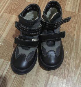 Ботинки демисезонные теплые