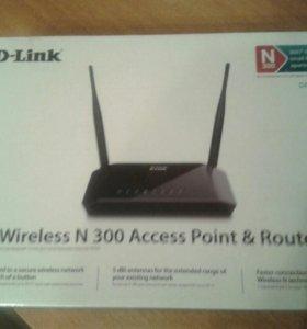 Wi-Fi роутер+точка доступа ( новый)