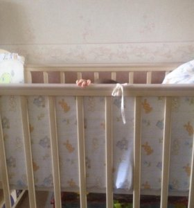 Кроватка Кубаньлесстрой (Лель) Виола и подарки