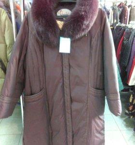 Куртка зимняя 56-58 размер