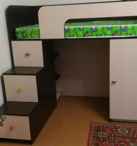 Кровать для ребенка от 3 до 8 лет