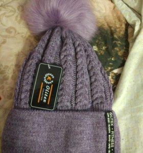 Зимняя женская шапка.