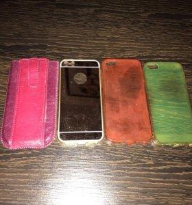 Чехлы на Айфон 5