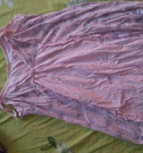 Ночная рубашка для кормления грудью