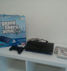 PlayStation 3 (500 Гб) + 10 игр