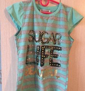 Детская новая футболка