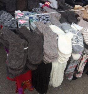 Носки вязаные шали