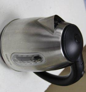 Чайник Polaris металл с подсветкой Новый