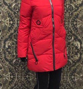 Куртка новая зима 4 размера