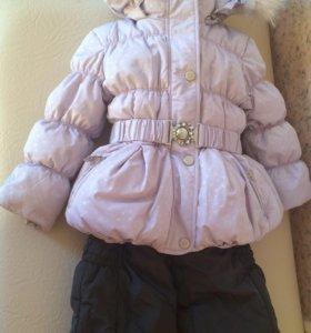 Куртка+ комбинезон на девочку