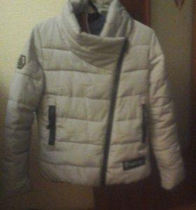 теплая осення куртка