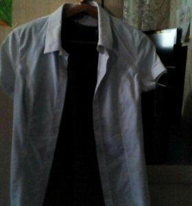 Блузки белые школьные