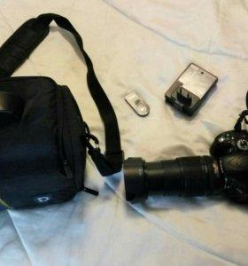 Фотоаппарат Nikon D5100 18-135 + сумка + штатив