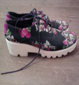 ботинки новые 37р