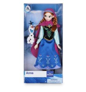 Оригинальная кукла Anna Classic Disney