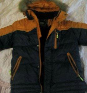 Куртка для мальчика зимняя