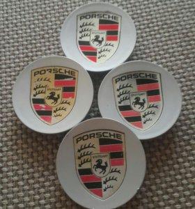 Центральные колпачки для литых дисков R20 Porsche