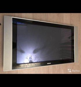 Огромный телевизор PHILIPS 42 дюйма не включается