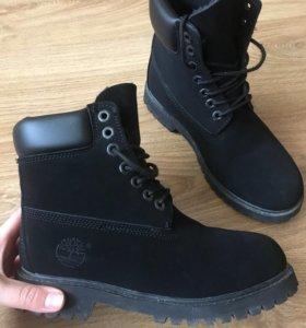 Тимберленды ( зимние ботинки ) новые
