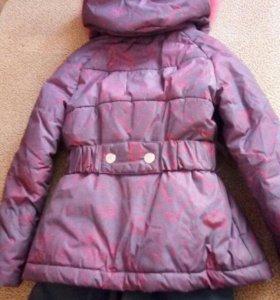 Детский зимний костюм ( куртка + штаны)