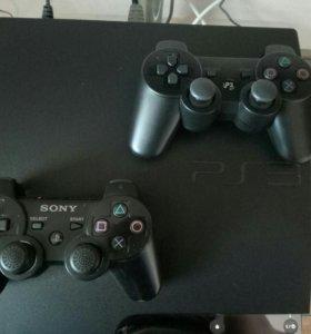 Sony PlayStation 3 (320gb)/2 джостика/Любые игры.