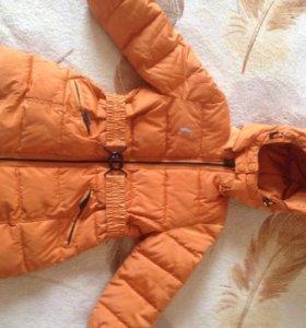 Пальто болоневое  на 2-3 года