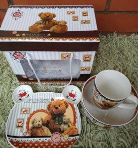 Набор детской посуды Leonardi Англия фарфор