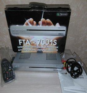 Спутниковый ресивер GS FTA-7001S