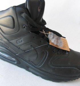 Кроссовки Зимние Nike Skyline Мех Кожа Ч.В.П42
