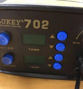 Паяльная станция с Lukey 702