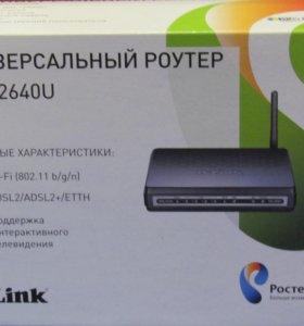 Роутер D-Link Wireless N 150 ADSL2+ Modem Router