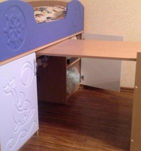 Кровать с матрасом для ребенка