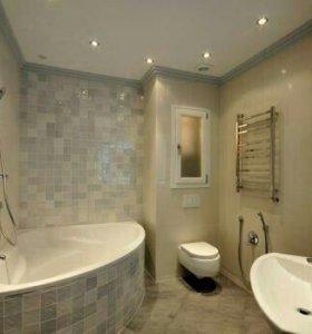 Ремонт ванной и квартиры не дорого