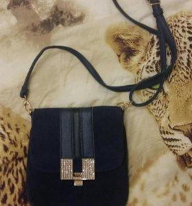Новая сумочка из замши