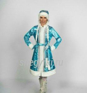 Костюм Снегурочки, платье снегурочки