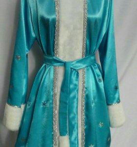 Платье, костюм Снегурочки.