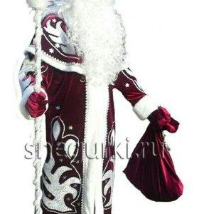 Шубка, костюм Деда Мороза.