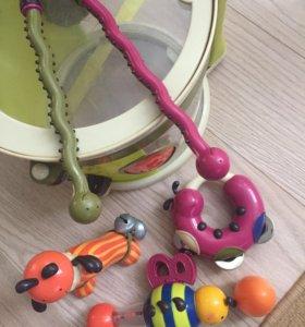Развивающая игрушка барабан Battat