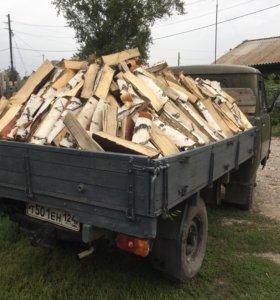 Продам дрова берёза, сосна.