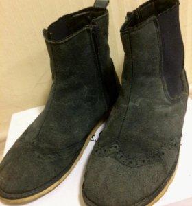 Ботинки осенние для девочек 34 размер